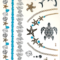 Flash Tattoos | UAE Makeup and Accessories